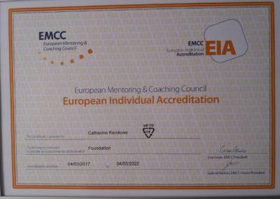 EMCC Certificat